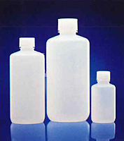 Natural HDPE Narrow Mouth Bottles